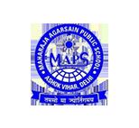 Maharaja agarsain public school logo